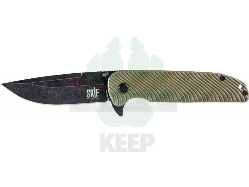 Нож SKIF Assistant G-10 Black SW green
