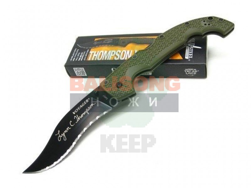 Нож Cold Steel Voyager Vaquero Lynn Thompson Edition XHP