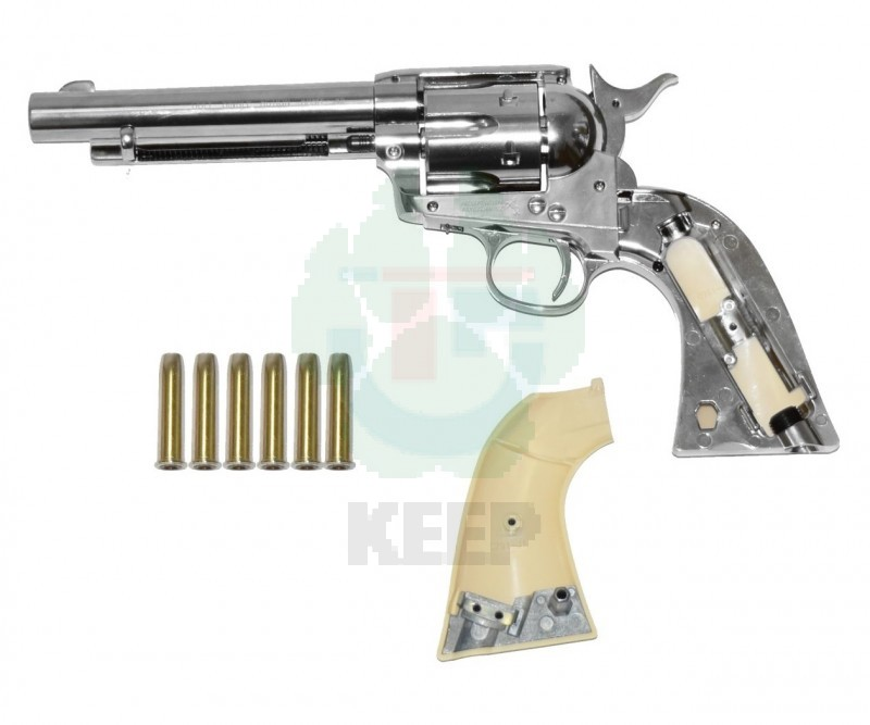 Пневматический револьвер Umarex Colt Single Action Army 45 White