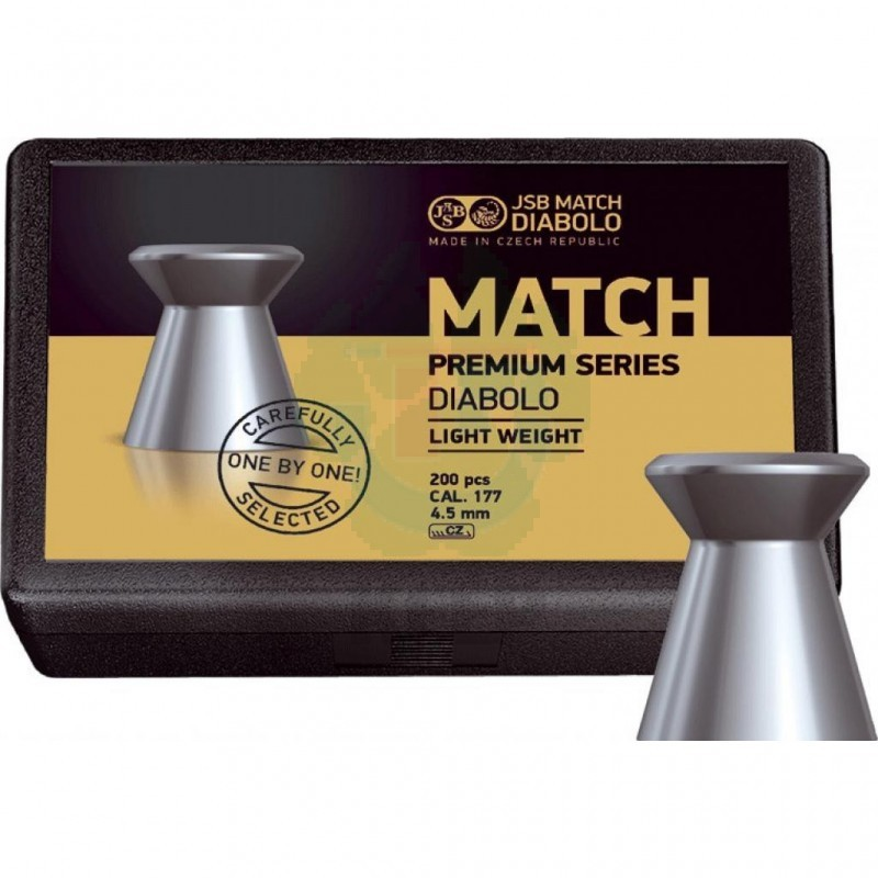 Пули JSB Match Premium light 0.475 г 200 штук